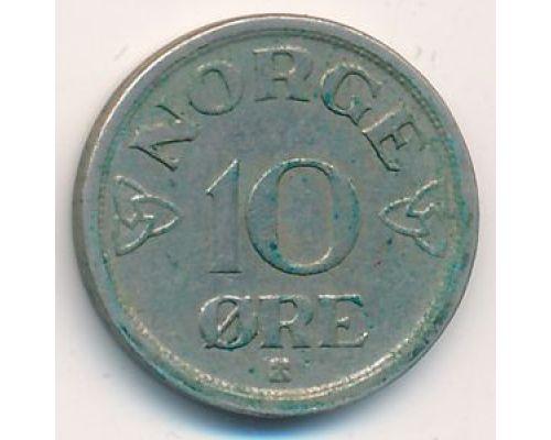 10 эре 1951 год Норвегия