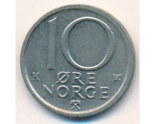 10 эре 1981 год Норвегия