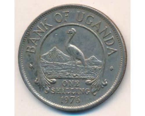 1 шиллинг 1976 год Уганда