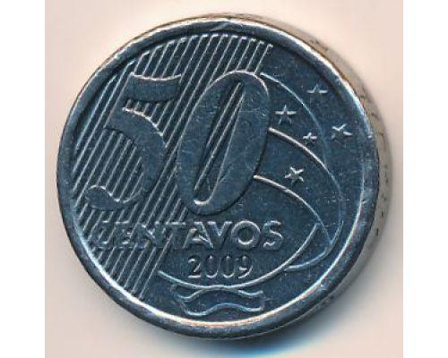 50 сентаво 2009 год Бразилия