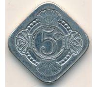 5 центов 1978 года Нидерланды Юбилейная 30 лет правления королевы Юлианы