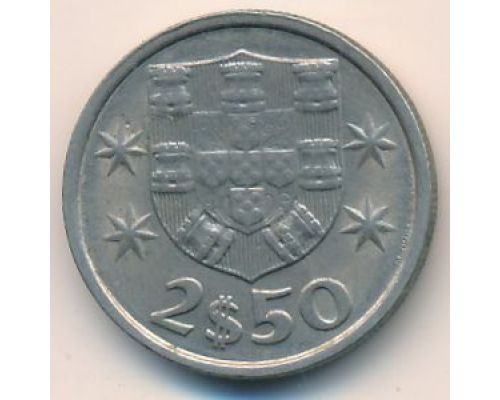 2,5 эскудо 1984 год Португалия