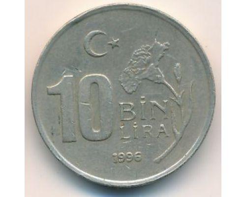 10000 лир 1996 год Турция (10 бин лир)