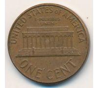 1 цент 1962 год D США