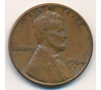1 цент 1964 год D США
