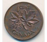 1 цент 1973 год Канада