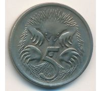 5 центов 1971 год Австралия