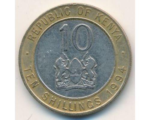 10 шиллингов 1994 год Кения