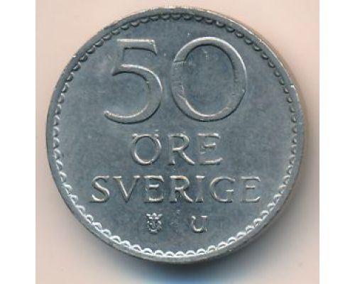 50 эре 1969 год Швеция