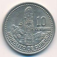 10 сентаво 1990 год Гватемала