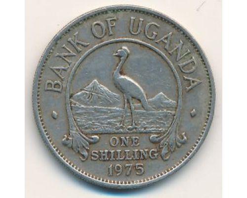1 шиллинг 1975 год Уганда