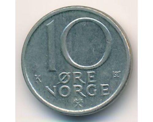 10 эре 1988 год Норвегия