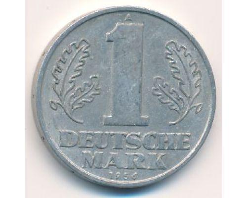 1 марка 1956 год Германия ГДР