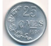 25 сентим 1970 год Люксембург