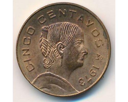 50 сентаво 1973 год Мексика Жозефа Ортис де Домингос
