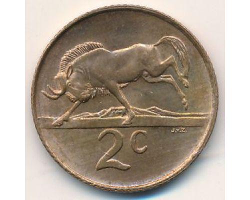 2 цента 1985 год ЮАР
