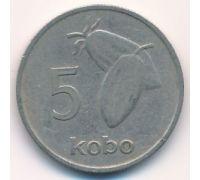5 кобо 1973 год Нигерия