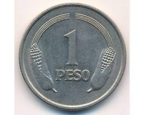 1 песо 1974 год Колумбия