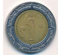 1 новый песо 1996 год Мексика