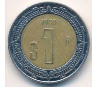 1 новый песо 2008 год Мексика