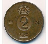 2 эре 1956 год Швеция