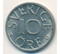 10 эре 1980 год Швеция