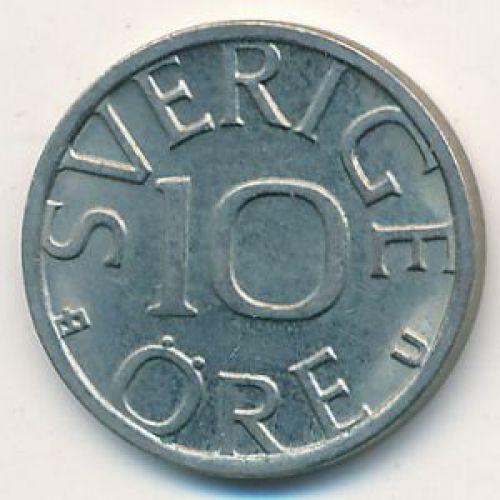 10 эре 1979 год Швеция