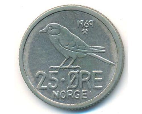 25 эре 1969 год Норвегия
