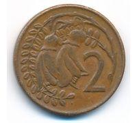2 цента 1969 год Новая Зеландия