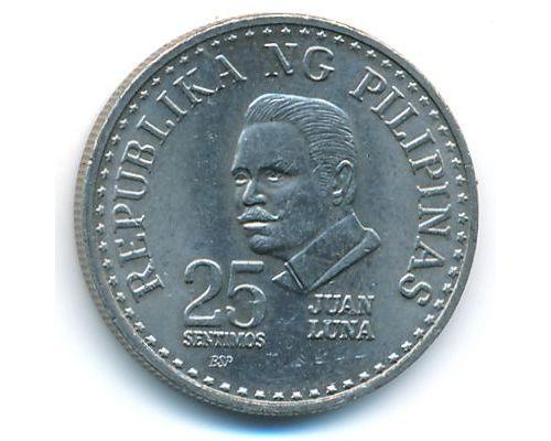 25 сентимо 1981 год Филиппины