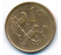 1 цент 1985 год ЮАР Птицы