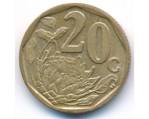 20 центов 2007 год ЮАР