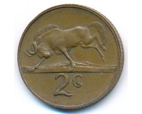 2 цента 1978 год ЮАР