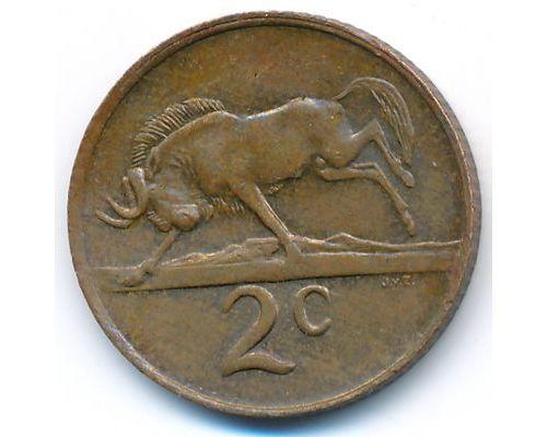 2 цента 1981 год ЮАР