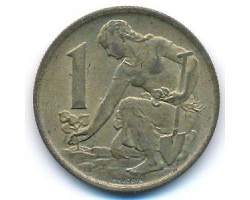 1 крона 1977 год Чехословакия