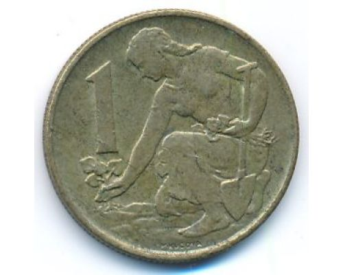 1 крона 1982 год Чехословакия