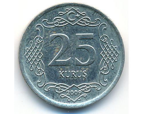 25 куруш 2009 год Турция