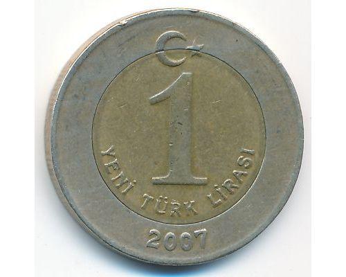 1 новая лира 2007 год Турция