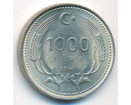 1000 лир 1994 год Турция