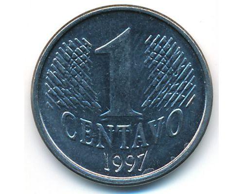 1 сентаво 1997 год Бразилия