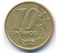 10 сентаво 1998 год Бразилия