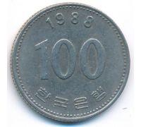 100 вон 1988 год Южная Корея