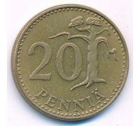 20 пенни 1963 год Финляндия