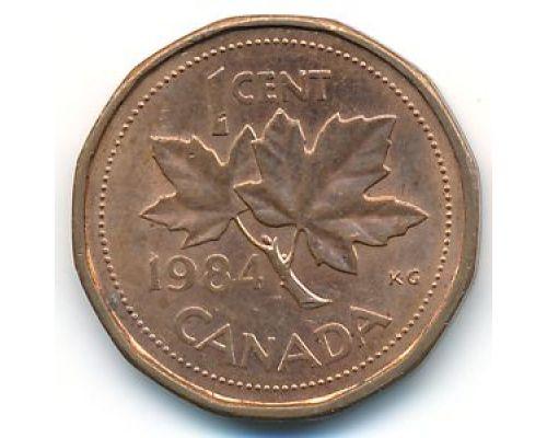 1 цент 1984 год Канада