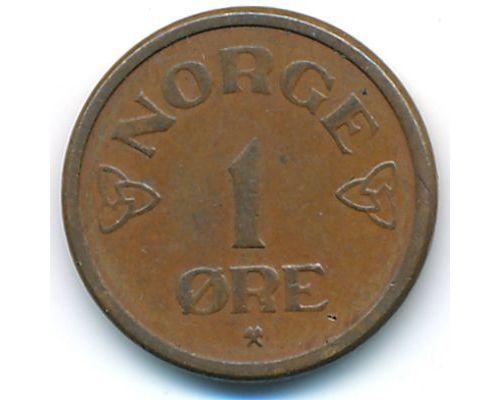 1 эре 1953 год Норвегия