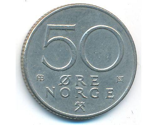 50 эре 1976 год Норвегия