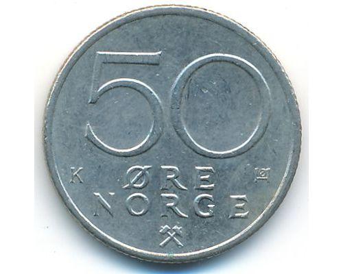 50 эре 1983 год Норвегия