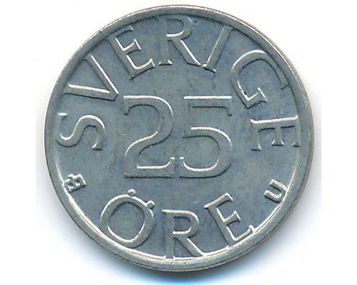 25 эре 1982 год Швеция