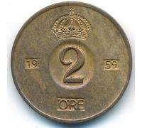 2 эре 1959 год Швеция