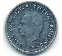 1 крона 2008 год Швеция
